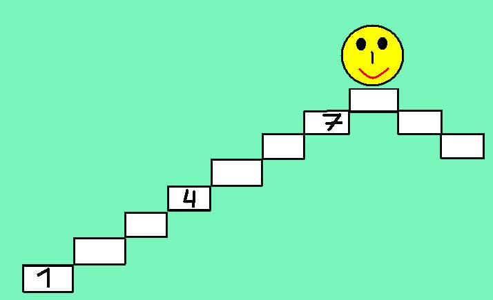 Запиши отрезок натурального ряда чисел