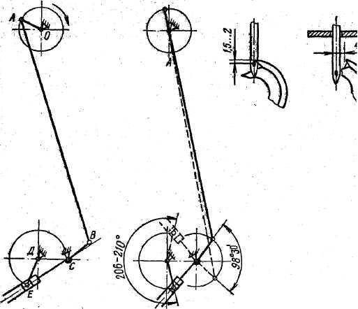 Кинематике схема механизма