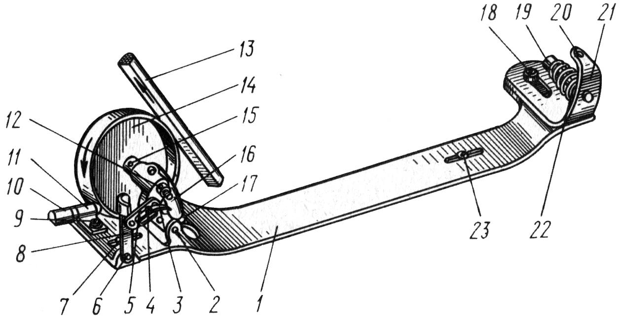 схема заправки нитки в швейную машинку подольск