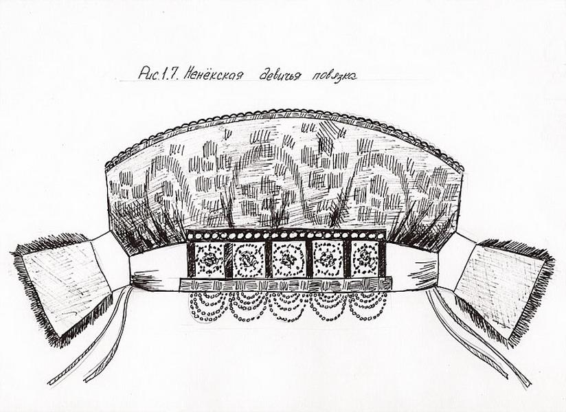 Русский народный головной убор женский своими руками выкройка 22